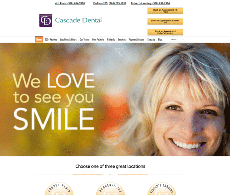 Ultimate Business Website Package Example