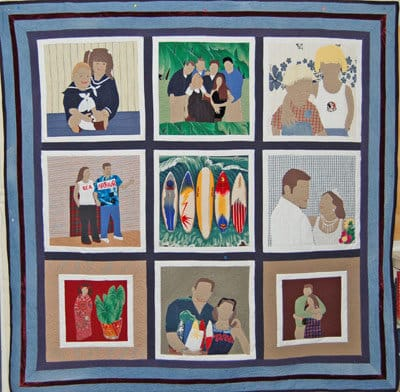 Rhino Quiliting Memory Quilt