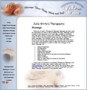 Julie Wirta Massage Therapist