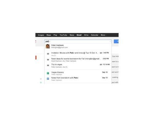 Gmail Enhanced Search