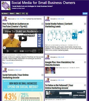 Content Curation Website Scoop.it