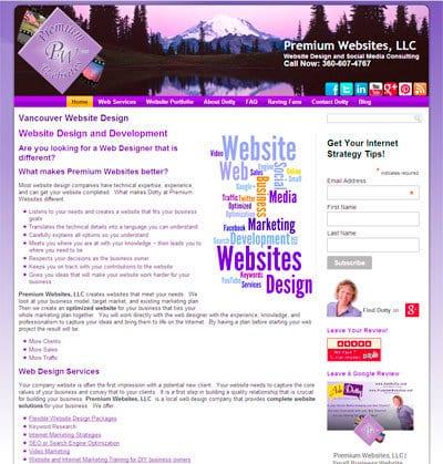 Screenshot of Desktop Version