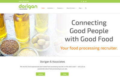 Dorigan - Service Industry Websites