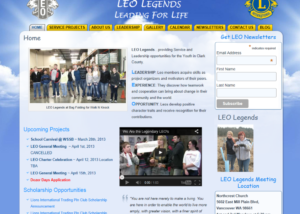 LEO Legends Website