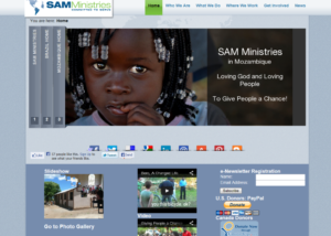 SAM Ministries Website