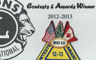 Best Lions Club Website 2013