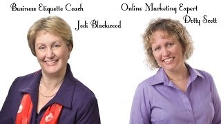 Business Etiquette Expert Jodi Blackwood