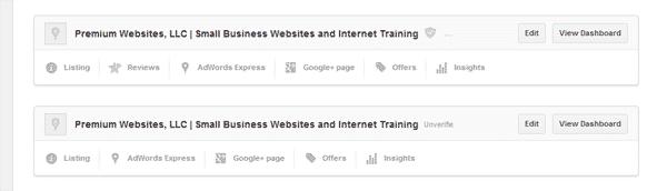 Duplicate Google Place Listings