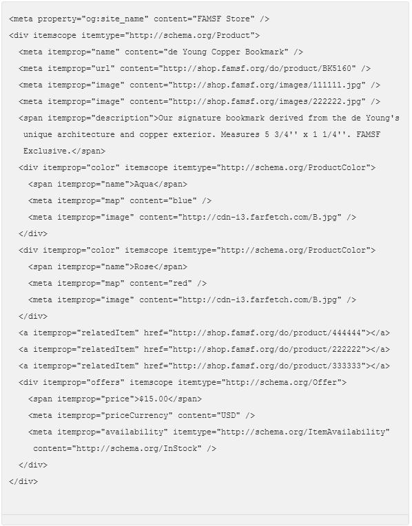 Rich Pin html Sample