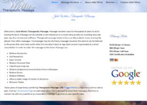 Julie Wirta Massage