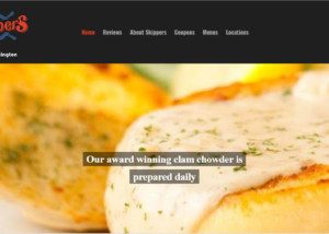 Skippers Restaurant Website