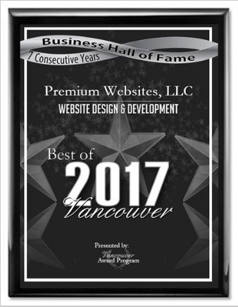 2017 Best in Vancouver Web Design