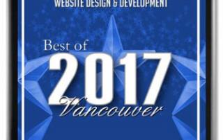 Best in Vancouver for Website Design 2017