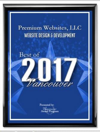 2017 Best in Vancouver Web Design