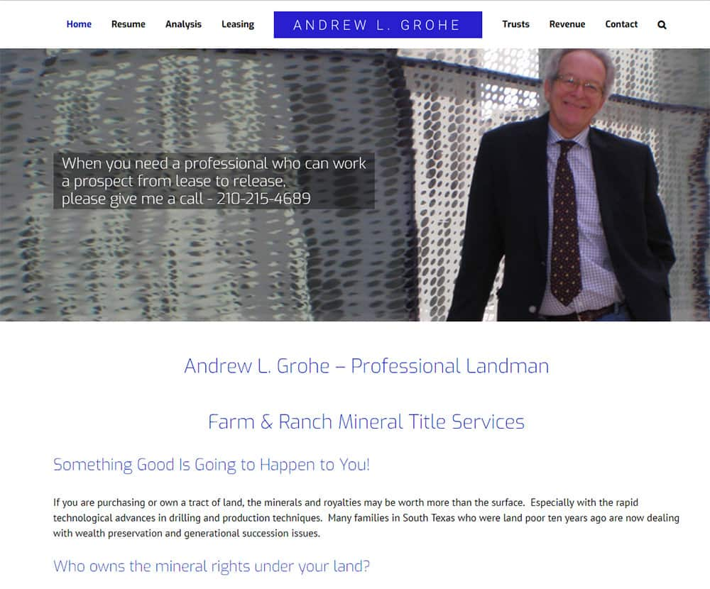 Andrew Grohe - Personal Website