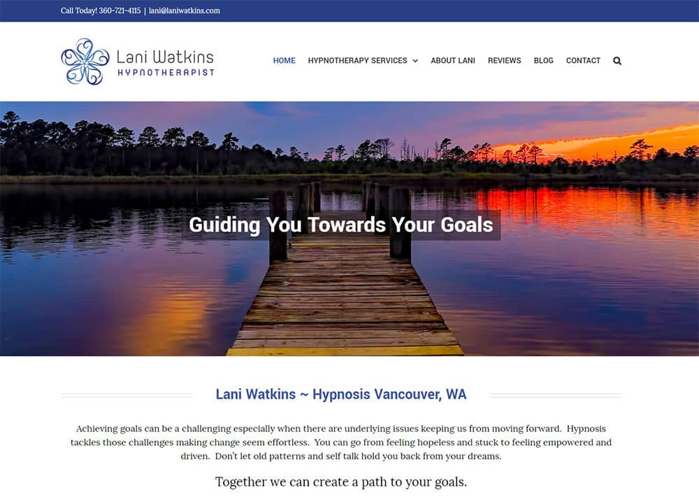 Lani Watkins Hypnosis Website