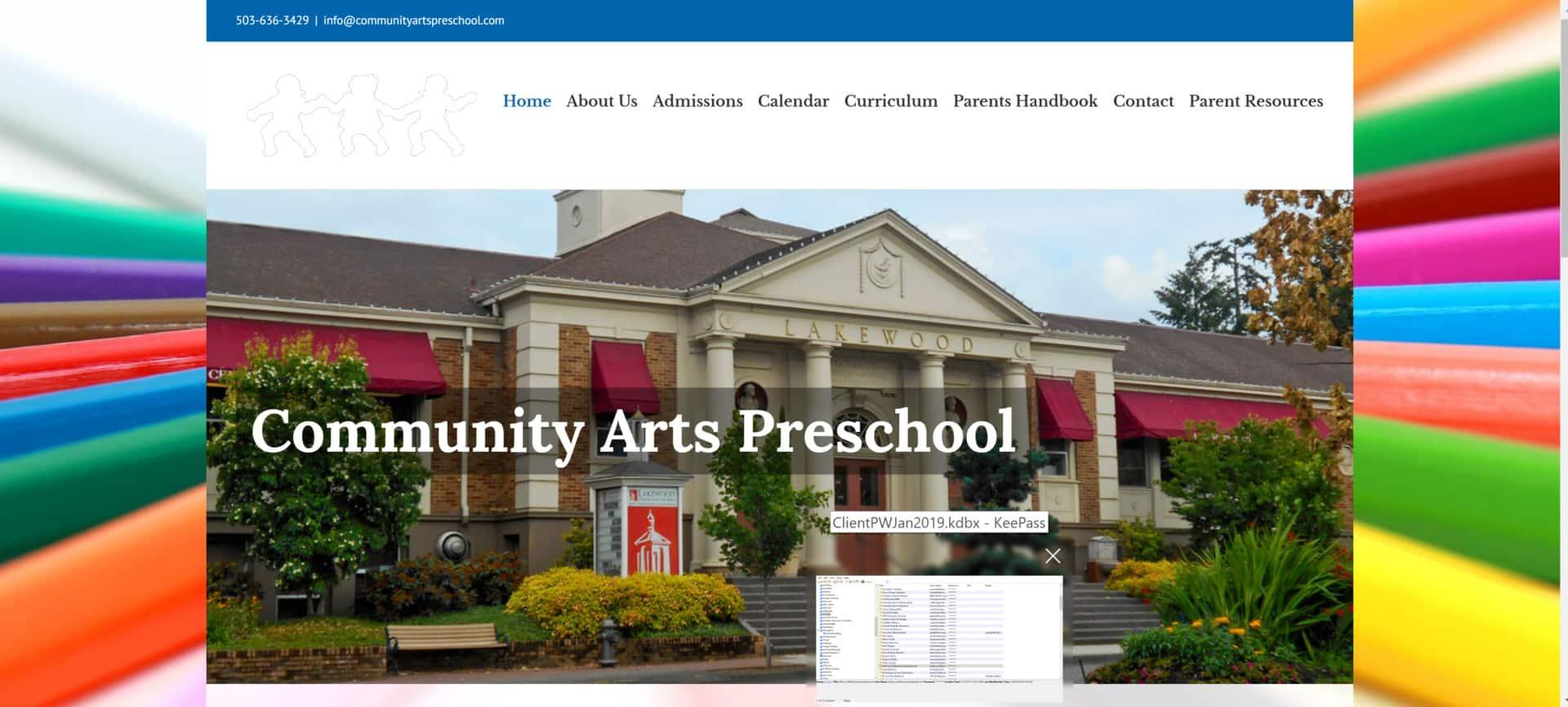 Community Arts Preschool