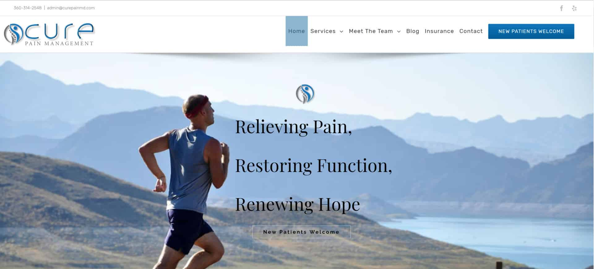 Cure Pain Management