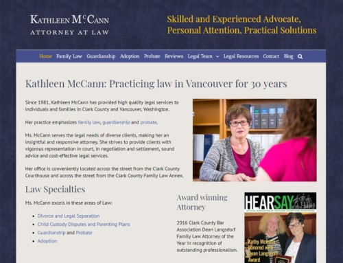 Kathleen McCann Attorney Website