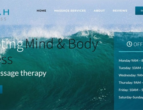 Selah Wellness – Massage Website