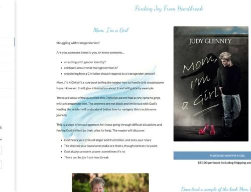 Judy Glenney Author