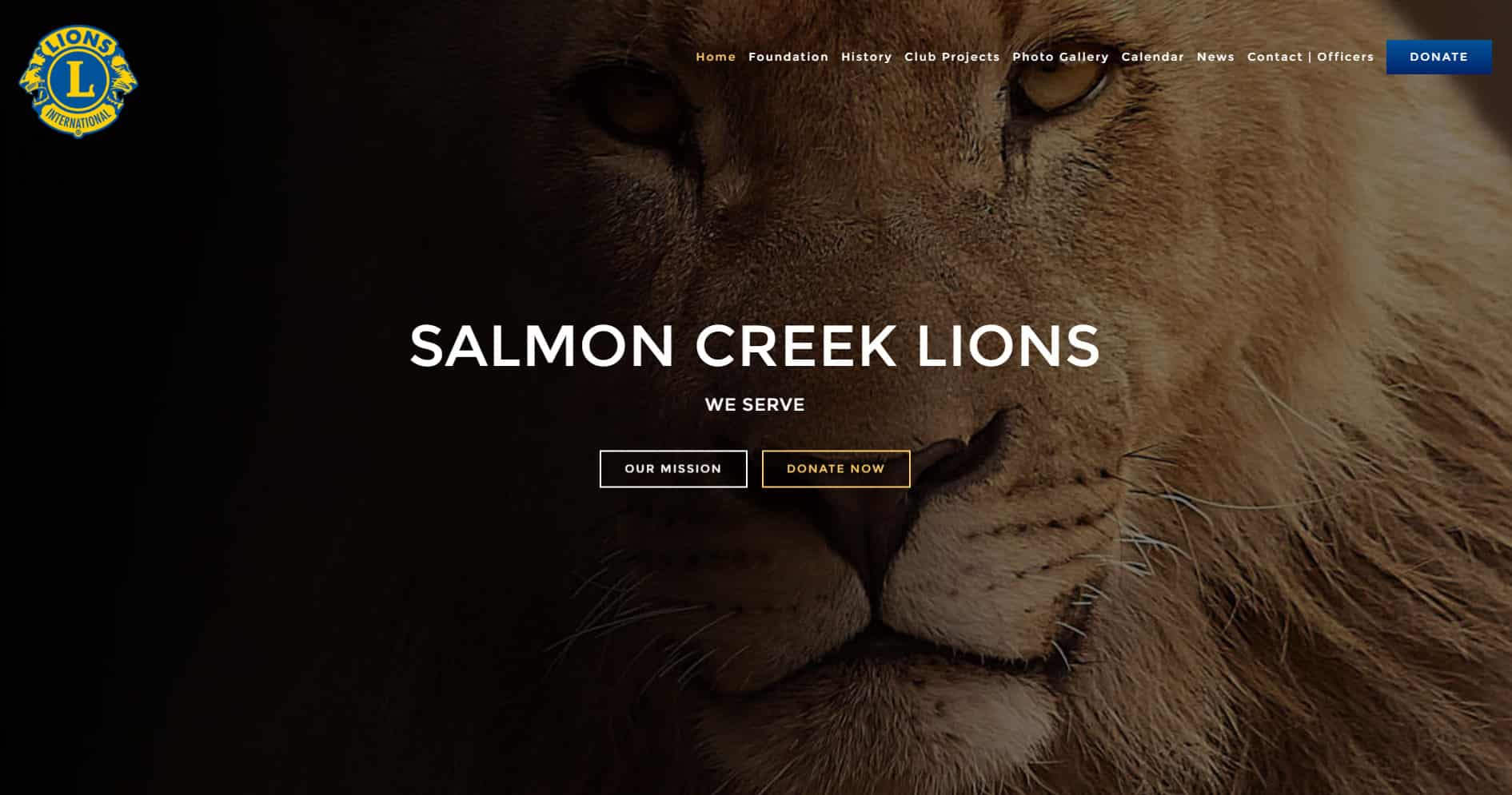 Salmon_Creek_Lions Club Website