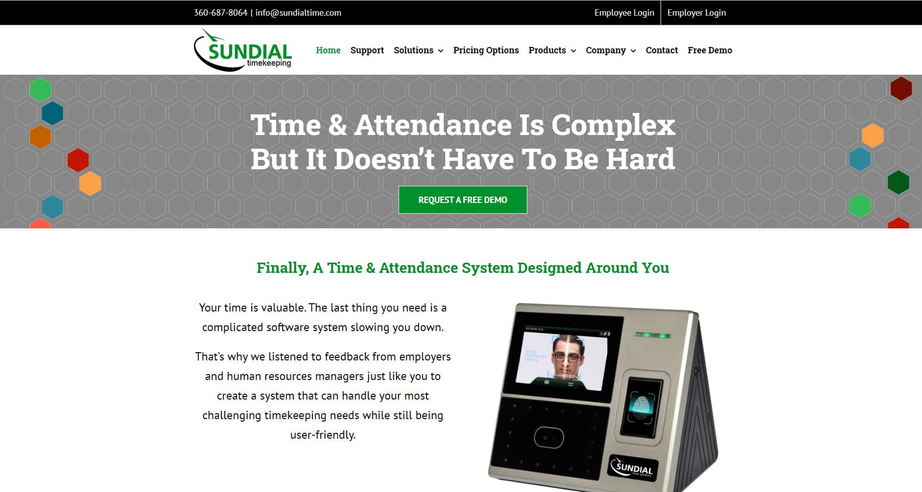 Sundial Time Website