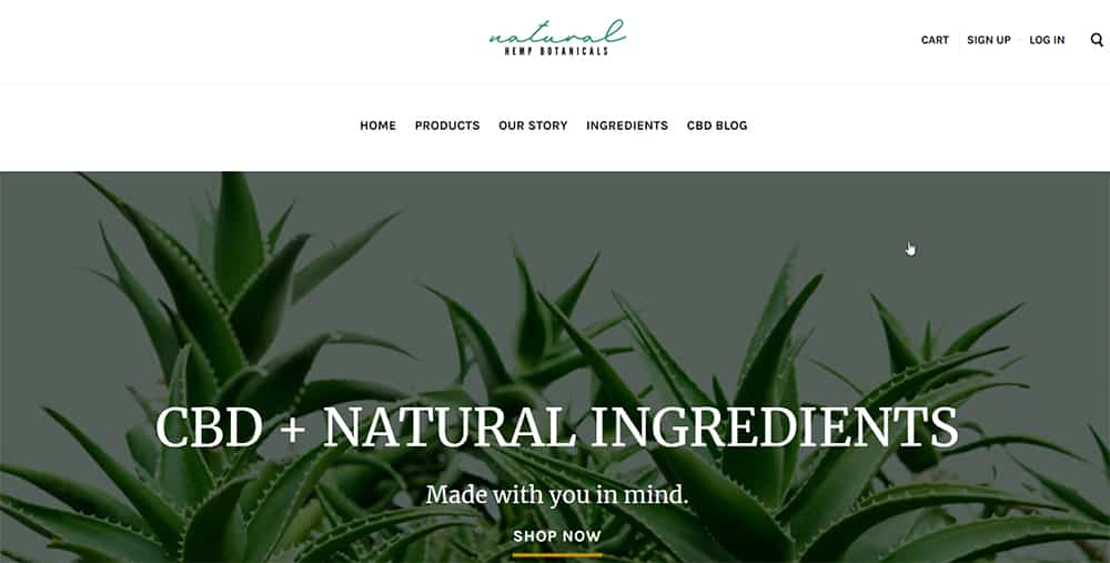 Natural Hemp Botanicals