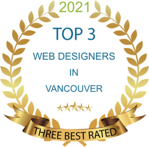 Top 3 Website designers Award