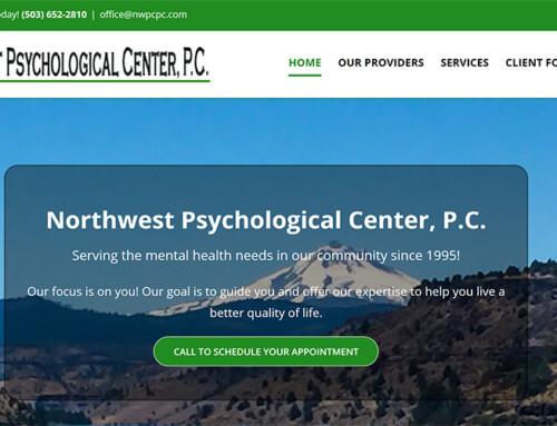 Northwest Psychological Center, P.C.